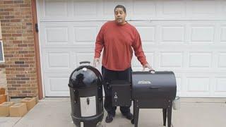 Weber Smokey Mountain VS. Traeger Mini - BBQ Rib Cookoff