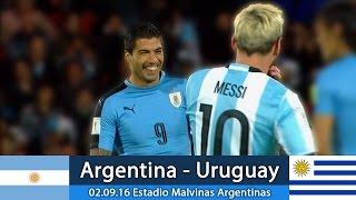 Аргентина–Уругвай 02.09.16 Обзор матча. Чемпионат Мира 2018 - Квалификационный турнир