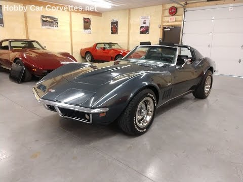 1969 Cortez Silver Corvette Stingray Manual Transmission For Sale Video
