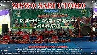 Gambar cover SISWO SARI UTOMO - KUPANG SARI live Sekatul - Festival Tari Rakyat