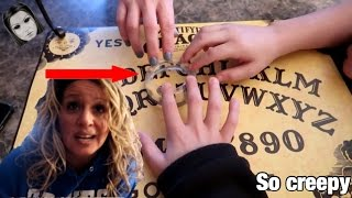 HOME MADE OUIJA BOARD CHALLENGE! *OMG So Crazy* IT WORKED!