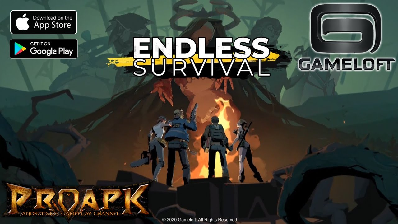 Endless Survival Gameplay Android Ios Soft Launch By Gameloft Proapk Android Ios Gameplay Download