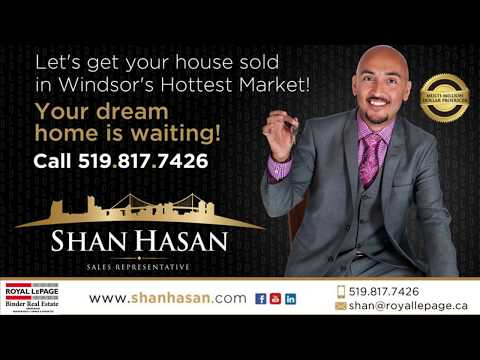SOLD!! 782 Stanley St - Windsor - Shan Hasan