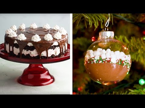 Yummy Candy Cane Cheesecake Recipe | Holiday Dessert Ideas by So Yummy