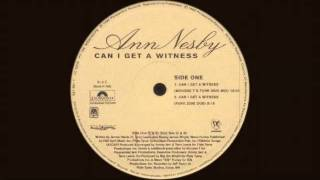 Ann Nesby - Can I Get A Witness (Mousse T's Original Remix) 1996