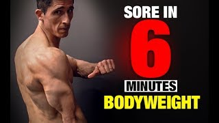 Bodyweight Triceps Workout (SORE IN 6 MINUTES!) by ATHLEAN-X™