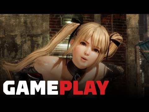 Dead or Alive 6 Gameplay - Honoka vs Marie Rose