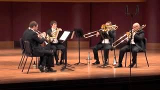 Ewald: Brass Quintet No. 3 in D-flat Major, Op. 7, Movement IV