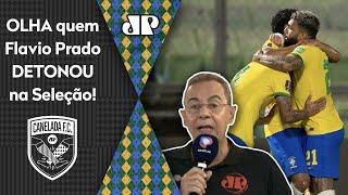 'Ele foi um morto em campo, parecia o Ganso': Olha quem Flavio Prado detonou na seleção brasileira