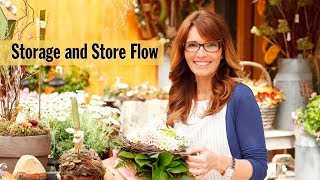 Flower Shop Storage And Store Flow