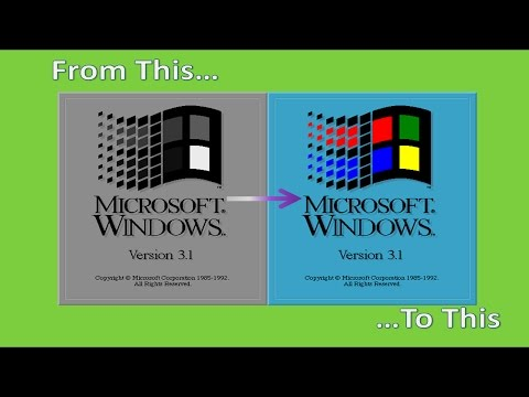 How to Get 256 Colors in Windows 3.1 and 3.11