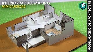25'x30' 1BHK | INTERIOR MODEL MAKING | Easy Way