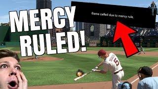 WALK OFF GRAND SLAM AND MERCY RULE!? INSANE! MLB THE SHOW 17 DIAMOND DYNASTY