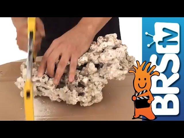 How to aquascape a saltwater reef aquarium - Episode 1: Aquascaping Pukani dry live rock