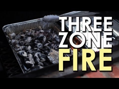 Make A Three-Zone Fire For BBQ Perfection