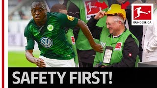Funny Gift From Wolfsburg Star After Cameraman Knockout