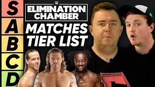 TIER LIST: WWE Elimination Chamber Matches