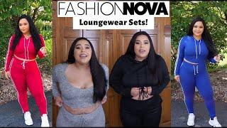 FASHION NOVA LOUNGE WEAR SETS!! | FASHION NOVA TRY ON HAUL
