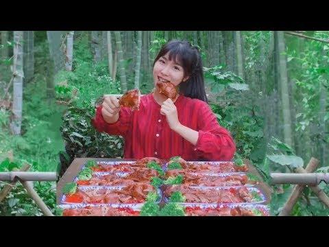 #大胃王 農村吃貨消滅30斤燒鵝(Dạ dày lớn. Vua ăn một bữa, ăn 30 cân)
