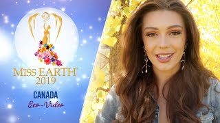 Mattea Henderson Miss Earth Canada 2019 Eco Video