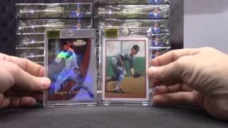 2016 Topps Archives Baseball 20 Box Serial #s GB # 2
