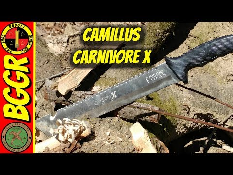Camillus Carnivore X Titanium Machete Review