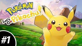 VIOL-ENT Gaming • Pokemon Let's Go Pikachu Walkthrough/Let's Play [Part 01]