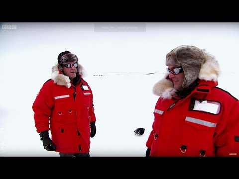 James and Jeremy In DANGER During Arctic Race | Top Gear