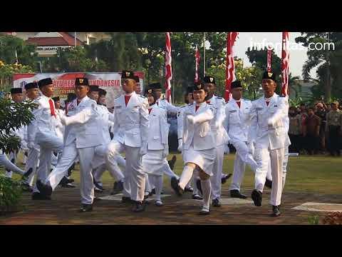Upacara HUT RI ke-72 Pemerintah Kota Jakarta Barat