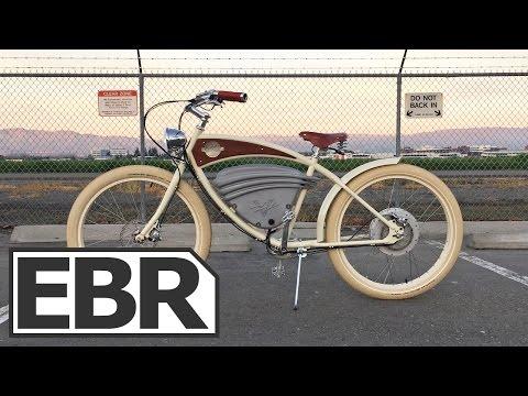 Vintage Electric Bikes Cruz Video Review