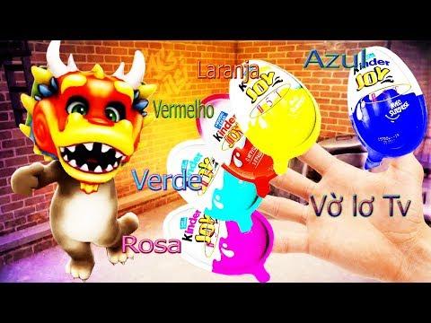Aprenda às cores com Falando Tom Gato, Vờ lơ TV, Bebê engraçado de vídeo, Educação Infantil # 3