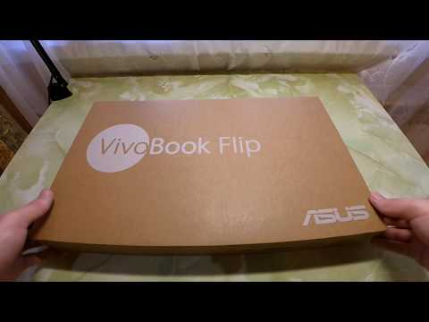 Unboxing Asus VivoBook Flip 14 TP410UA