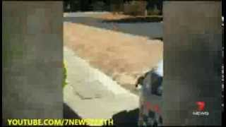 Police Officer In Trouble | 7News Perth | 20/11/2013