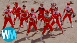 Top 10 Red Power Rangers