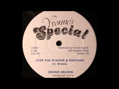 DENNIS BROWN – Stop The Fussing & Fighting [1978]