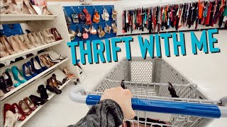 Thrift With Me At Goodwill + Saving For Your Future As A Reseller | THRIFTMAS Day 16