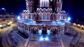 Свято-Михайловский собор г.Ижевск, Аэросъемка, 2016г