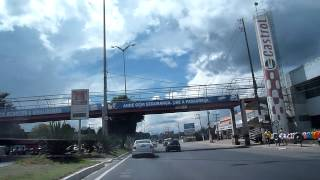 Driving in Manaus - Going to the airport on a Sunday