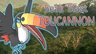 Toucannon  - (Pokémon) - Sub Beak Blast Toucannon - Pokemon Sun and Moon Showdown Live