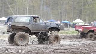 Ford Trucks Mudding At Mud Bog
