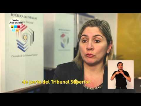 Image of the video: Voto Accessible (Accessible Vote)