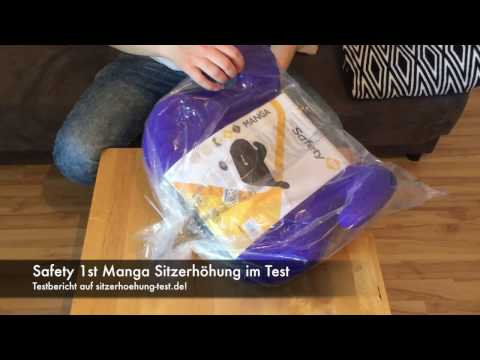 Safety 1st Manga Sitzerhöhung im Test auf Sitzerhoehung-Test.de