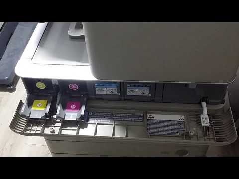 Replace toner on Canon IR Advance C5030 / C5035 / C5045 / C5051