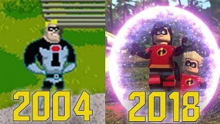 Evolution Of The Incredibles In Games (2004-2018)