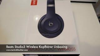 Beats Studio3 Wireless Kopfhörer Unboxing
