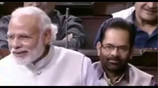 Narendra modi - Motivational shayari during Rajyasabha session