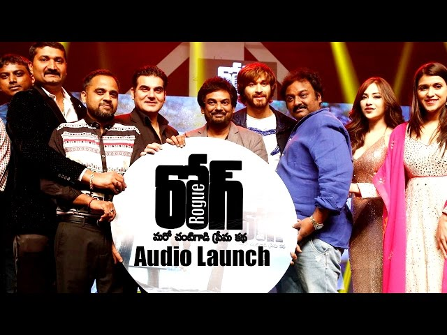 Puri Jagannadh Rogue Audio Launch LIVE | Ishan, Mannara, Angela