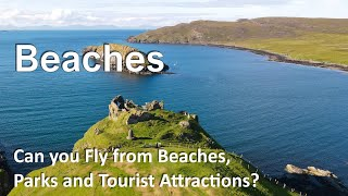 Can You Fly your Drone from Beaches & Recreational Areas? CAA Guidance