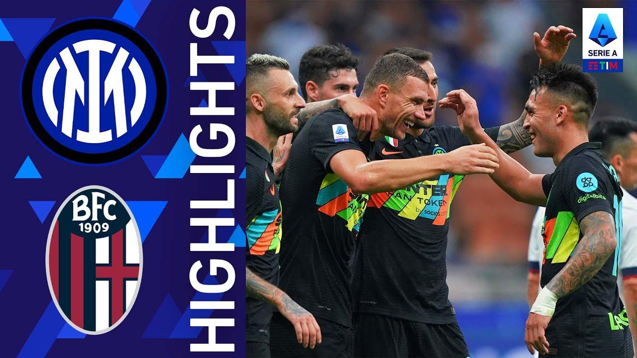 Inter 6-1 Bologna | Festival del goal a San Siro | Serie A TIM 2021/22