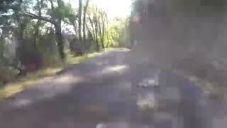 Downhill 70 km/h from Monte Cappane. Isola d